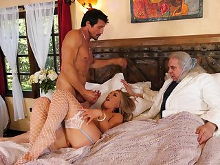 Svelte blonde hottie Kate Kennedy practices few sexual limits